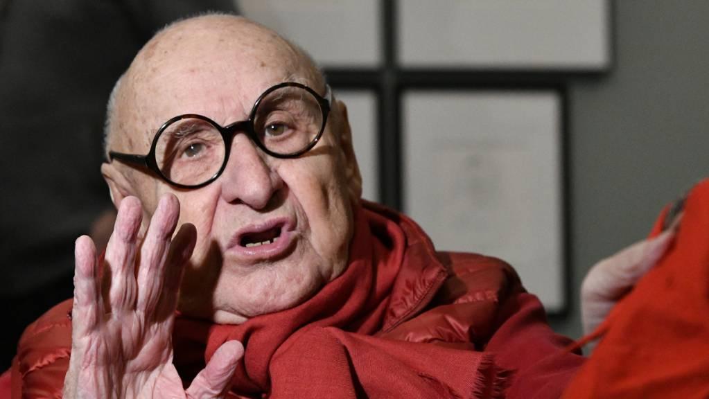 Der Stararchitekt Gustav Peichl ist mit 91 Jahren verstorben. (Archivbild)