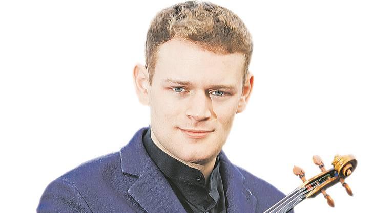 Der Schweizer Geiger Sebastian Bohren.