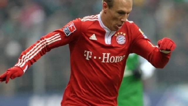 Dank Geburtstagskind Arjen Robben steht Bayern München an der Tabellenspitze