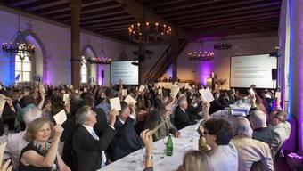 Generalversammlung der AZ Medien auf Schloss Lenzburg