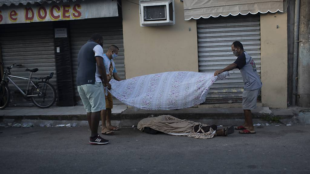 Brasilien vermeldet mehr als 16'000 Coronavirus-Tote