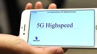 Neues Handynetz 5G. (Symbolbild)