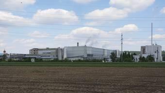 Die alte Kartonfabrik in Niedergösgen wird abgerissen.