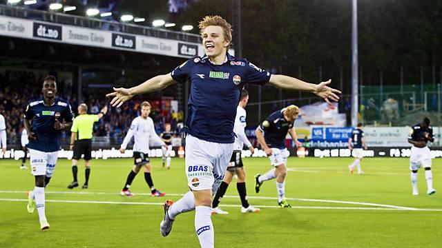 Noch keine 16 und schon A-Nationalspieler: Martin Oedegaard
