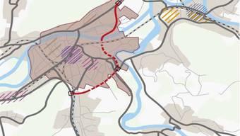 Nachzug Ostaargauer Strassenentwicklung