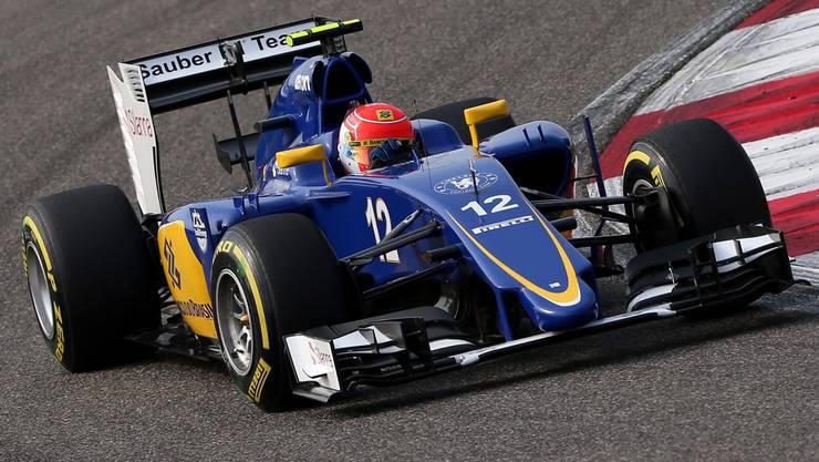 Felipe Nasr (im Bild) gewinnt für Sauber wieder Punkte, genauso wie Marcus Ericsson.