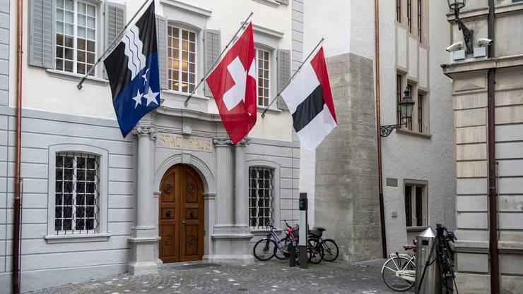 Das Badener Stadthaus, in dem die Mitglieder des Stadtrats sich jeweils treffen. (Archiv)