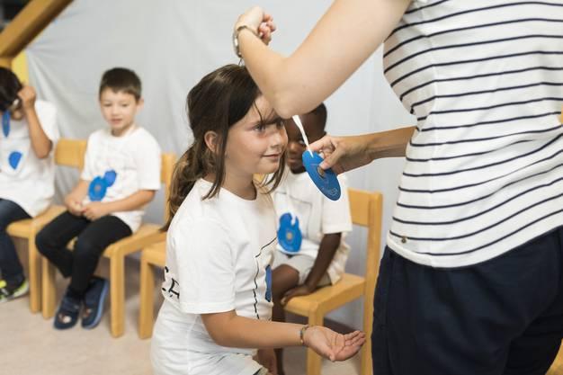 Der Kindergarten Breitfeld feierte ein eigenes Mini-Jugendfest.