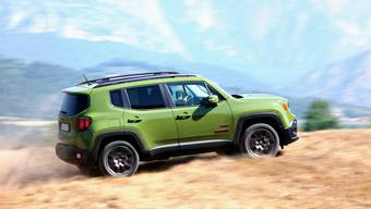 Kantig und charmant: Jeep Renegade 75th anniversary Edition. Ab 36 230 Franken.