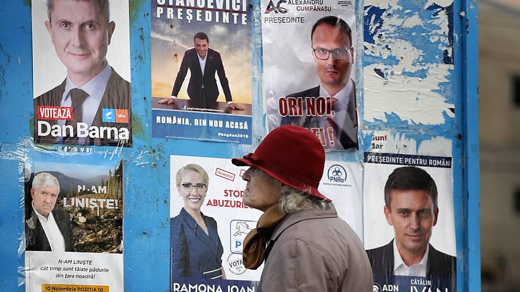 In Rumänien wird am heutigen Sonntag ein neuer Präsident gewählt.