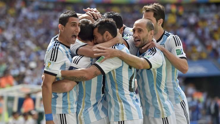 Argentinien besiegt den Viertelfinal-Fluch