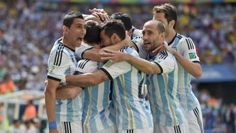 Argentinien-Belgien, Viertelfinal: Die Bilder zum Spiel