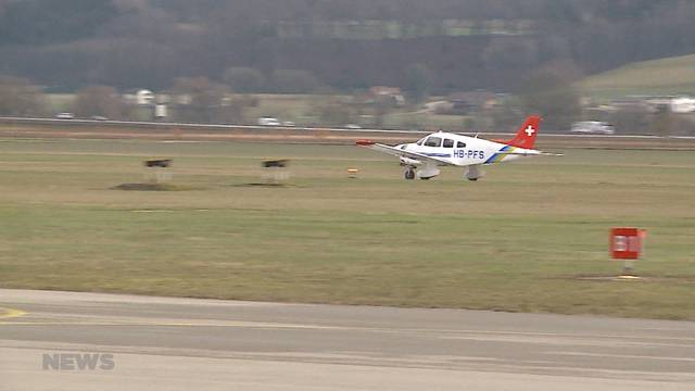 Bundesamt beendet Pilotprojekt des Flughafens Grenchen