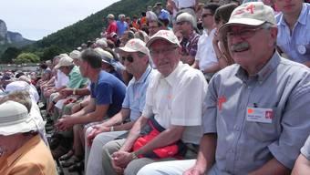 Vereinigung alt Turner und Turnerinnen des Kantons Solothurn am Kantonalturnfest in Balsthal