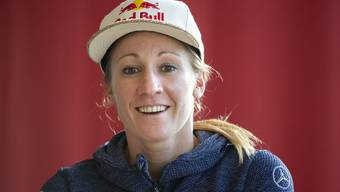 Daniela Ryf tritt im Training derzeit kürzer.