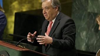 Seine Chancen stehen gut: António Guterres ist Favorit auf die Nachfolge im Amt von UNO-Generalsekretär Ban Ki Moon. (Archivbild)