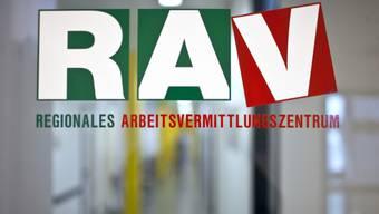Logo des Regionalen Arbeitsvermittlungszentrums RAV (Symbolbild)