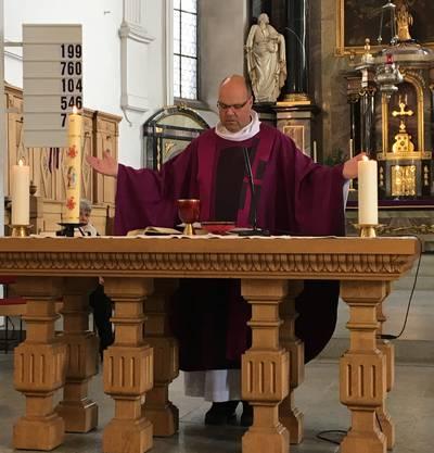 Pfarrer Stefan Essig aus Leuggern