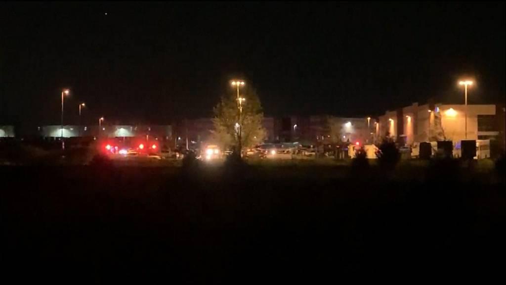 Indianapolis (USA): Mindestens acht Tote bei Schiesserei in Fedex-Paketzentrum