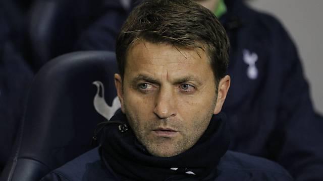 Sherwood übernimmt bei Tottenham.