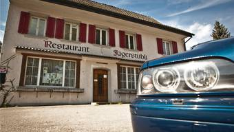 Im ehemaligen Restaurant Jägerstübli in Brugg werden schon bald Asylbewerber einziehen