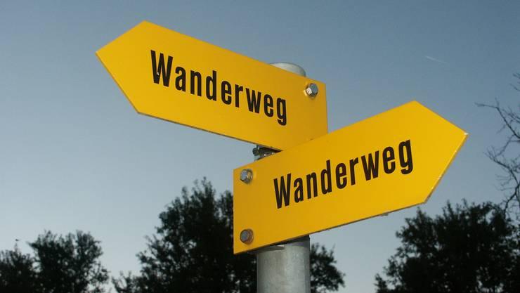 Zwischen Melchnau und Altbüron ist neu ein Rundwanderweg ausgeschildert.