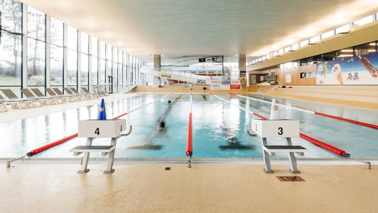 Im Hallenbad Gitterli wurde der Junge leblos im Nichtschwimmerbecken gefunden.