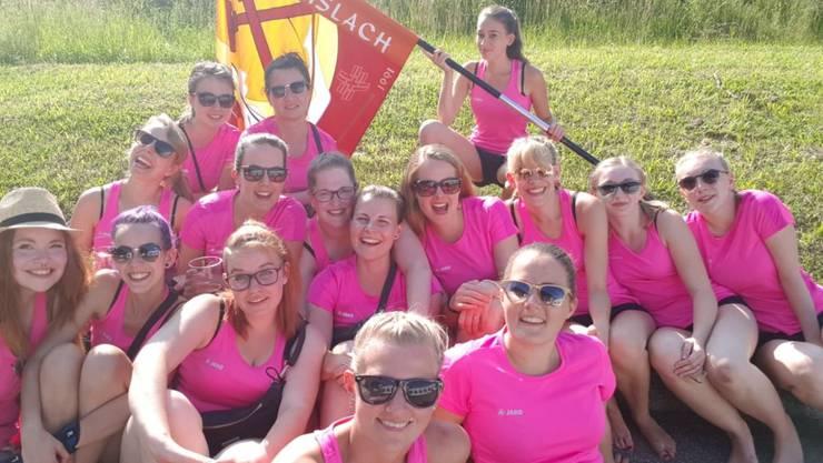 Es fehlen noch ein paar Turnerinnen auf dem Bild. Ein Gruppenfoto ist am ETF 2019 in Aarau geplant.