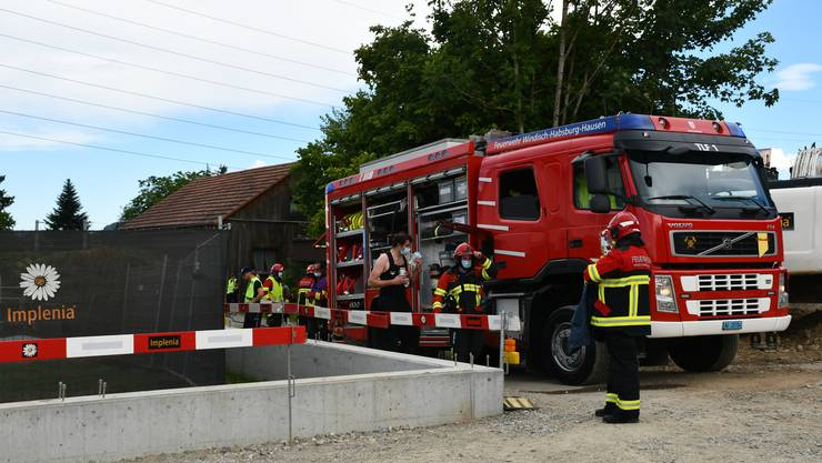 Die Feuerwehr Windisch-Habsburg-Hausen musste am Mittwochnachmittag an die Unterwerkstrasse ausrücken.