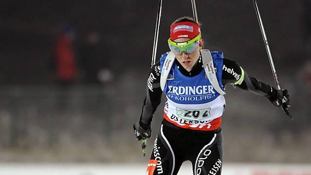 Die Schweizer Startläuferin Selina Gasparin.