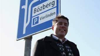 Ist mit dem Sammelergebnis zufrieden: Andreas Tscheulin hat innert 70 Tagen knapp 2000 Unterschriften gesammelt. zvg