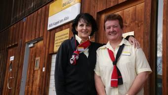 Für Cécile Vollenweider (links) und Rosmarie Gantenbein geht ein Lebensabschnitt zu Ende. (Bild Thomas Stöckli)