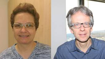 Gemeinderätin Monika Zeindler (links) und Vize-Gemeindepräsident Stefan Nipp.