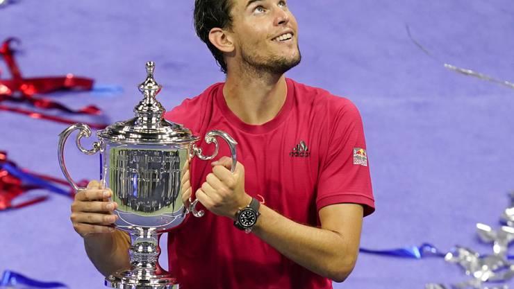 Der erste österreichische Grand-Slam-Sieger seit 25 Jahren: Dominic Thiem