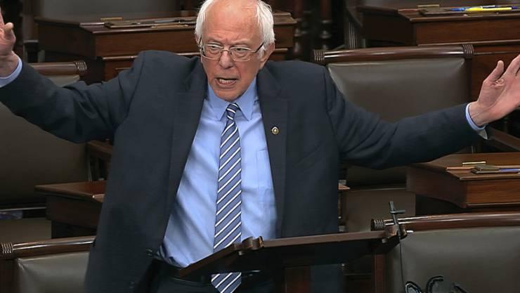 Die US-Demokraten im Ausland unterstützen mehrheitlich die Kandidatur von Bernie Sanders. (Archivbild)