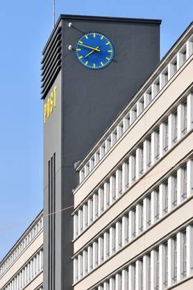 Der Turm der Sihlpost beim Zürcher Hauptbahnhof.
