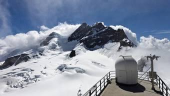 Die Jungfrau, gesehen von der Plattform auf dem Jungfraujoch aus (Symbolbild, Archiv)