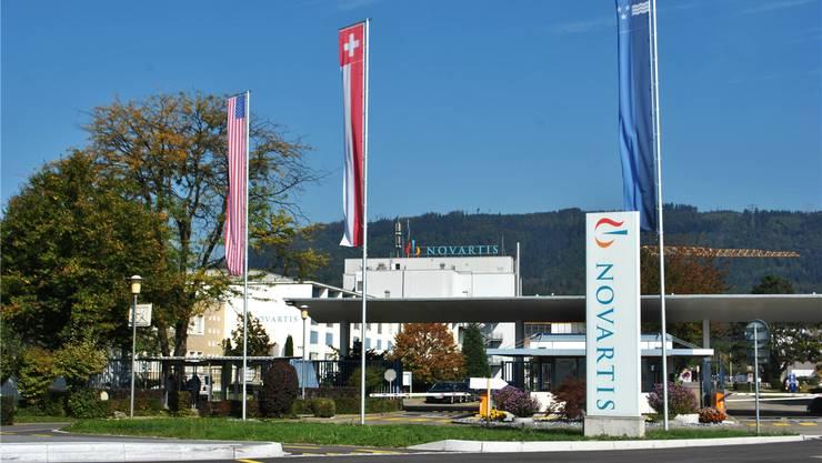 Bis 2022 werden am Novartis-Standort Stein 700 Stellen abgebaut – und 450 neue geschaffen. Archiv/nbo