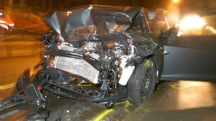 Totalschaden bei Unfallverursacher.