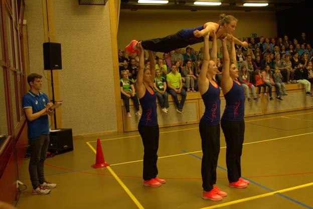 Team Aerobic: STV Niederbuchsiten.