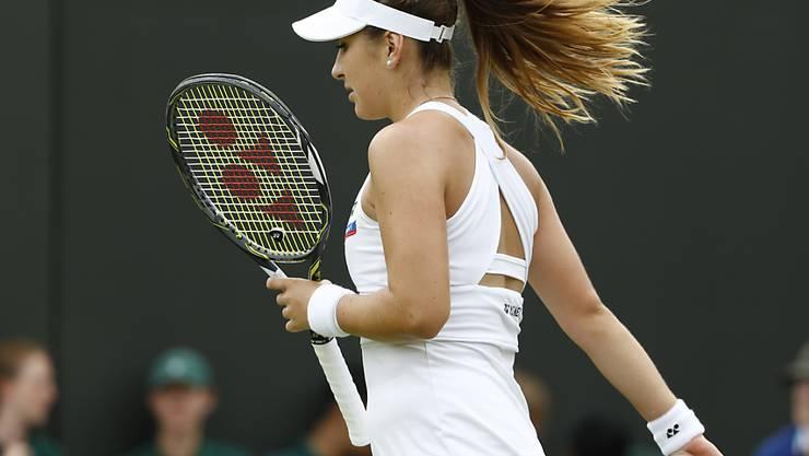 Belinda Bencic ist in der Weltrangliste zurückgefallen