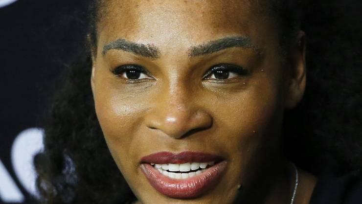 Da war sie schon schwanger, nur wusste niemand Bescheid: Serena Williams im Januar. Eigentlich hätte sie ihre Schwangerschaft gerne noch ein wenig länger für sich behalten. Doch ein falscher Knopfdruck teilte die Neuigkeit mit der ganzen Welt.