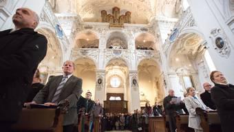 Einweihung der Jesuitenkirche Solothurn