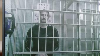 Der russische Schauspieler Pawel Ustinow wird aus der Haft entlassen.