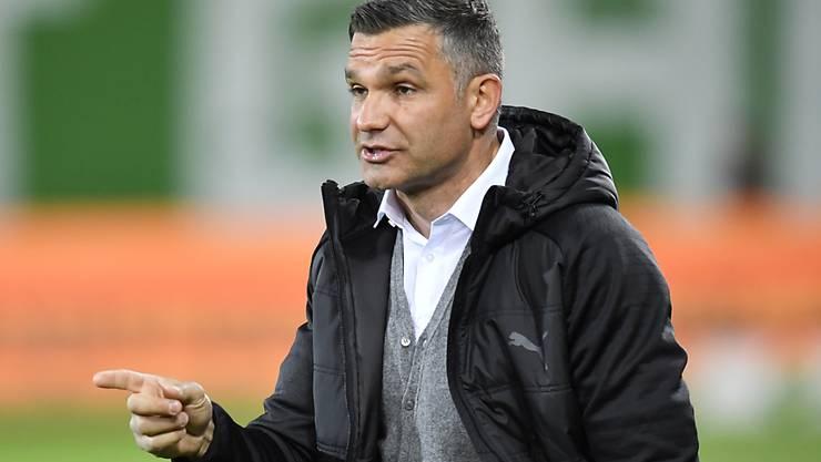 Man fragt sich: Wie kommt der Laie Stephan Rietiker innert kürzester Frist zum richtigen Schluss, dass Tomislav Stipic (Bild) der falsche Trainer für GC ist?