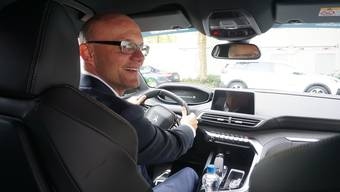 Fahrer bei den Swiss Indoors: Philip Sollberger