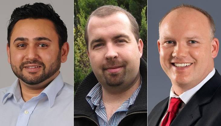 Und das sind die drei Kandidaten