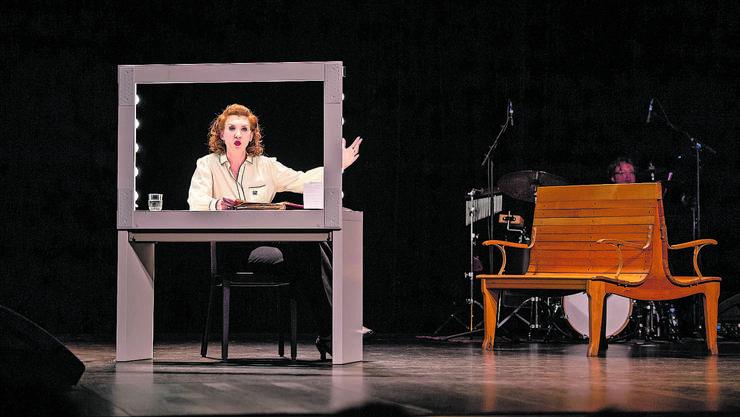 Nach der Premiere im Stadttheater Solothurn gastierte «fe-mail» nun auch in Grenchen.