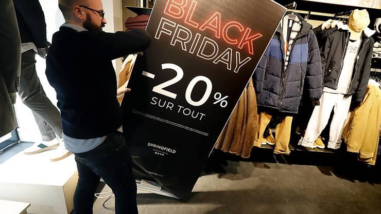 Auch in Europa wird der Black Friday immer beliebter (Bild aus Frankreich).