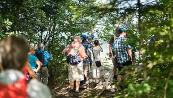 Leserwanderung von Fehren nach Nunningen durchs Schwarzbubenland
